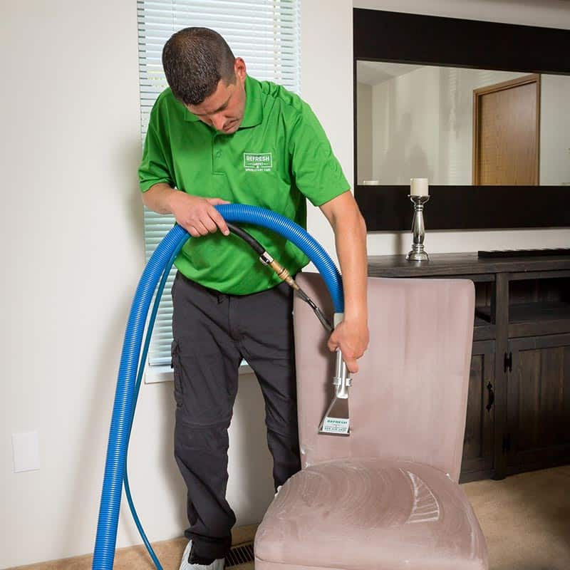 refresh upholstery cleaning service