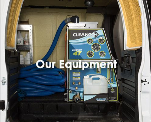 Our equipment used for carpet cleaning