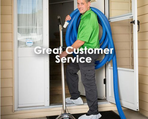 great customer service by the Refresh Surrey carpet cleaning team