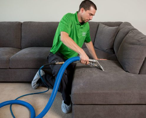 upholstery cleaning included at refresh surrey