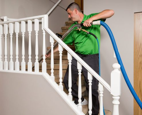 stair cleaning included at refresh surrey